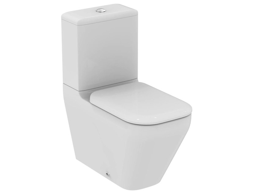 WC monobloc en céramique TONIC II - K3168 by Ideal Standard
