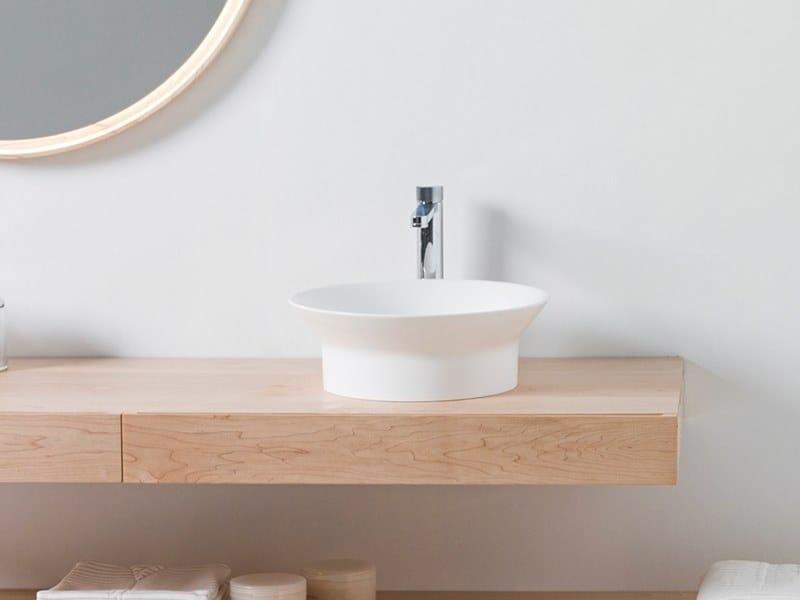 Countertop round acrylic washbasin TONO | Countertop washbasin by Noken
