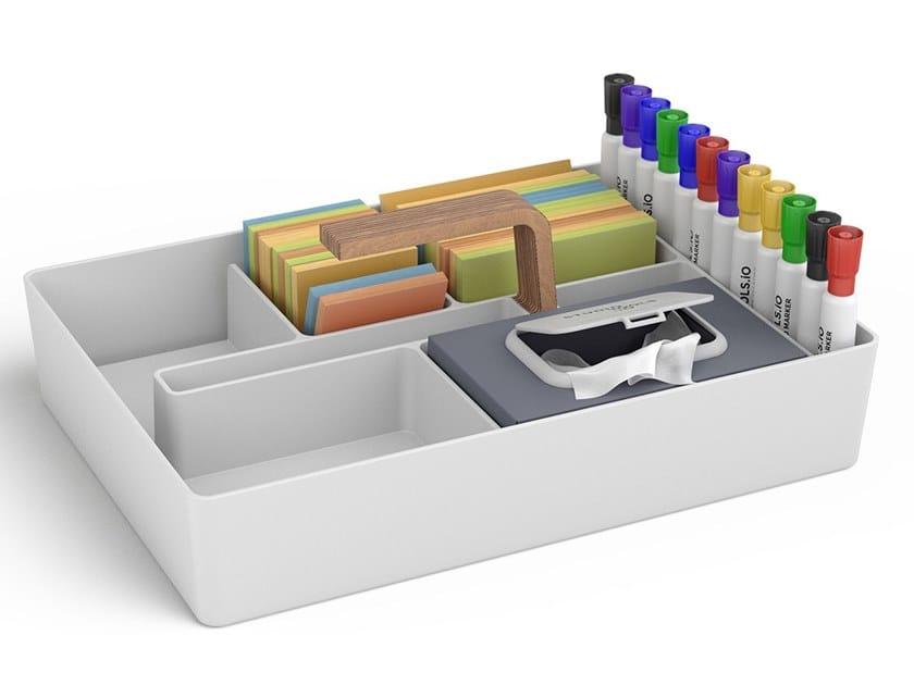 Organizador de escritorio de plástico TOOLBOX by Studiotools