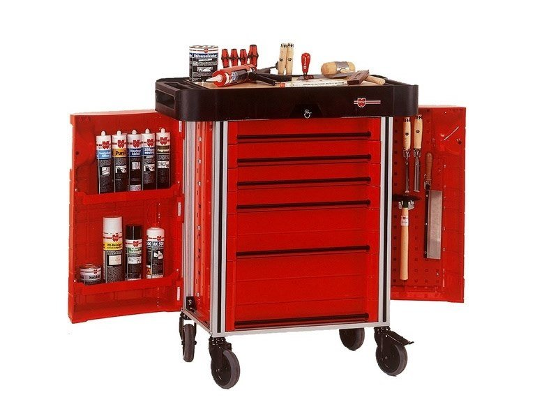 Warehouse Cart Toolsystem By Würth