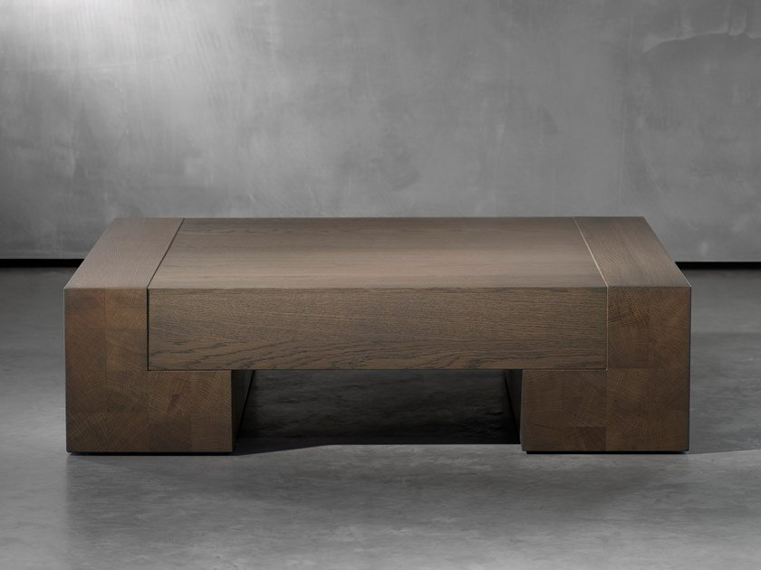 Square coffee table TOOS by Piet Boon