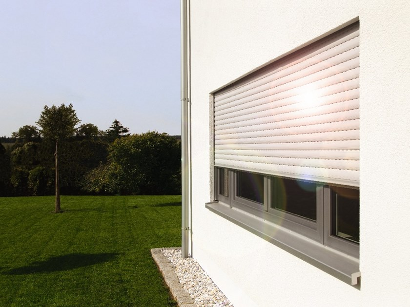 Roller shutter TOP-MOUNTED ROLLER SHUTTERS by WAREMA
