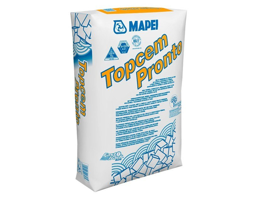 Malta premiscelata pronta all'uso TOPCEM PRONTO by MAPEI