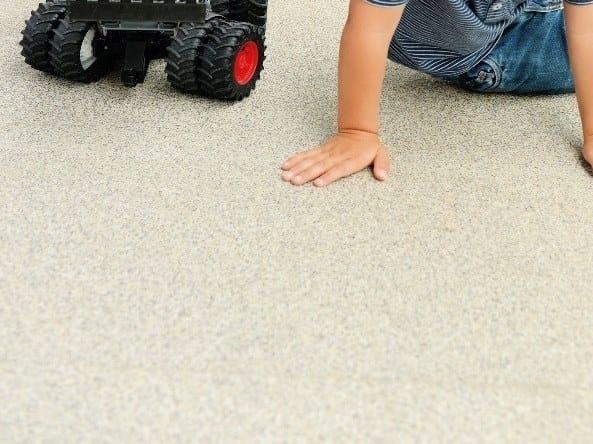 Outdoor floor tiles TOPERO® MEGAPANEL by Topero Balkonboden