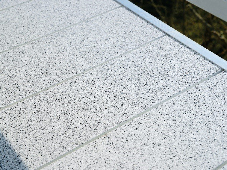 Anti-slip outdoor floor tiles TOPERO® NORMAL PANEL by Topero Balkonboden