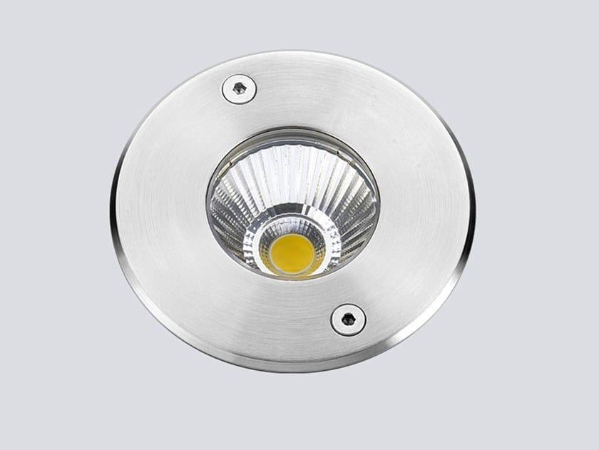 Segnapasso a LED a pavimento TOPO 6 by ONOK Lighting