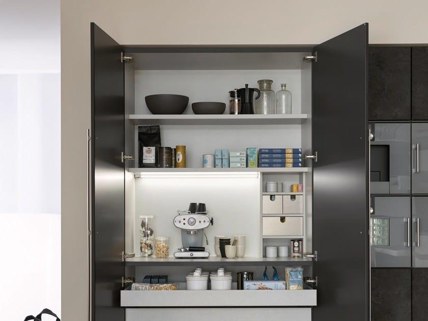 k che mit ku cheninsel topos concrete by leicht. Black Bedroom Furniture Sets. Home Design Ideas