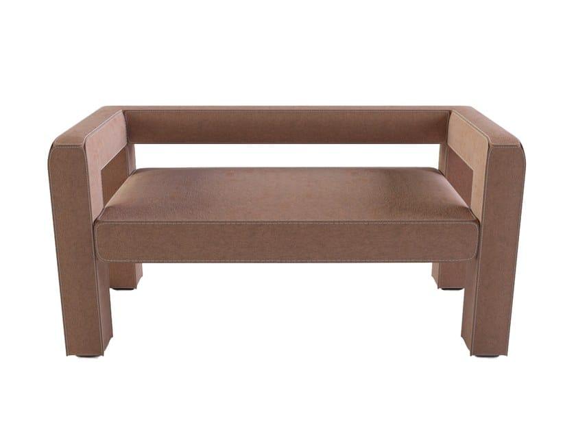 2 seater felt sofa TOPTUN | Sofa by FAINA Collection