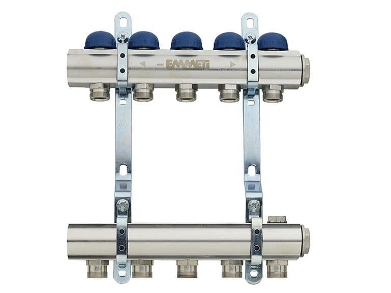 Distribution bar manifold for radiators TOPWAY R by EMMETI