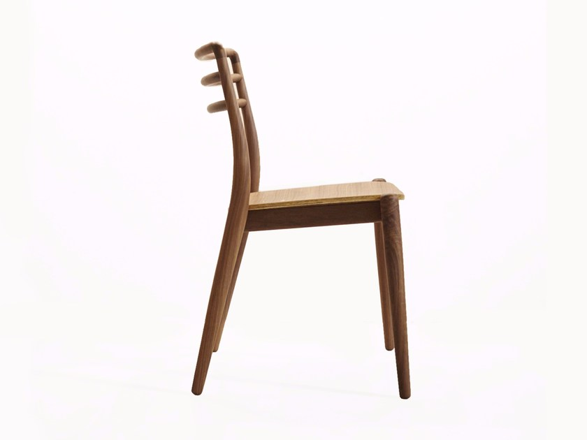 Stackable solid wood chair TOR | Stackable chair by Dare Studio