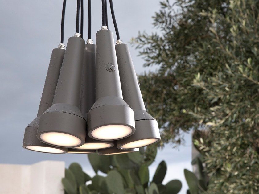 Direct light technopolymer pendant lamp TORCIA | Pendant lamp by Karman