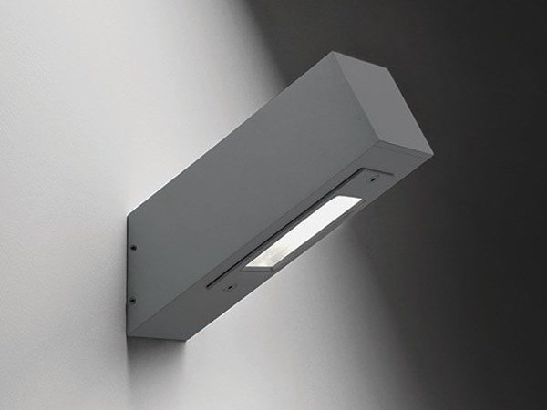 Applique per esterno a led in alluminio torga d bel lighting