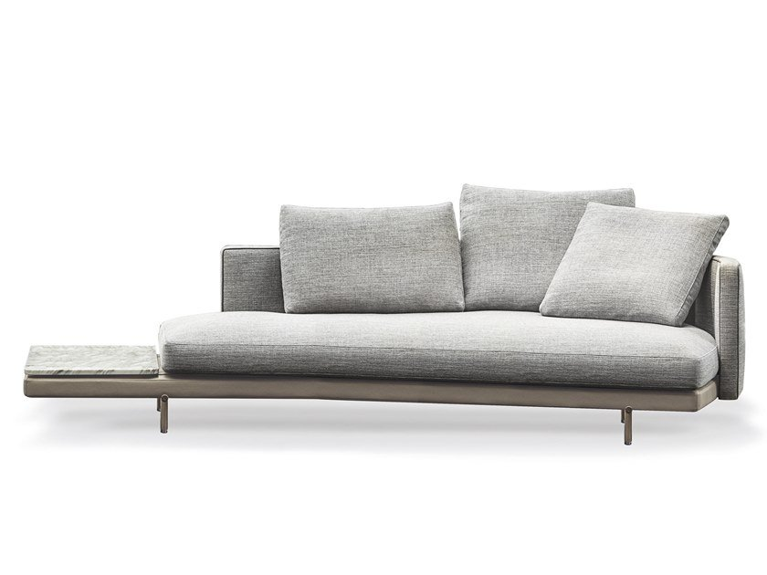 Inclined sofa with top TORII | Inclined sofa with top by Minotti