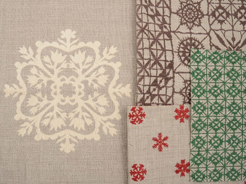 Jacquard fabric with graphic pattern TORINO 06 PIZZO by l'Opificio