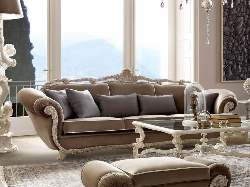 3 seater fabric sofa TORNABUONI | Sofa by Andrea Fanfani