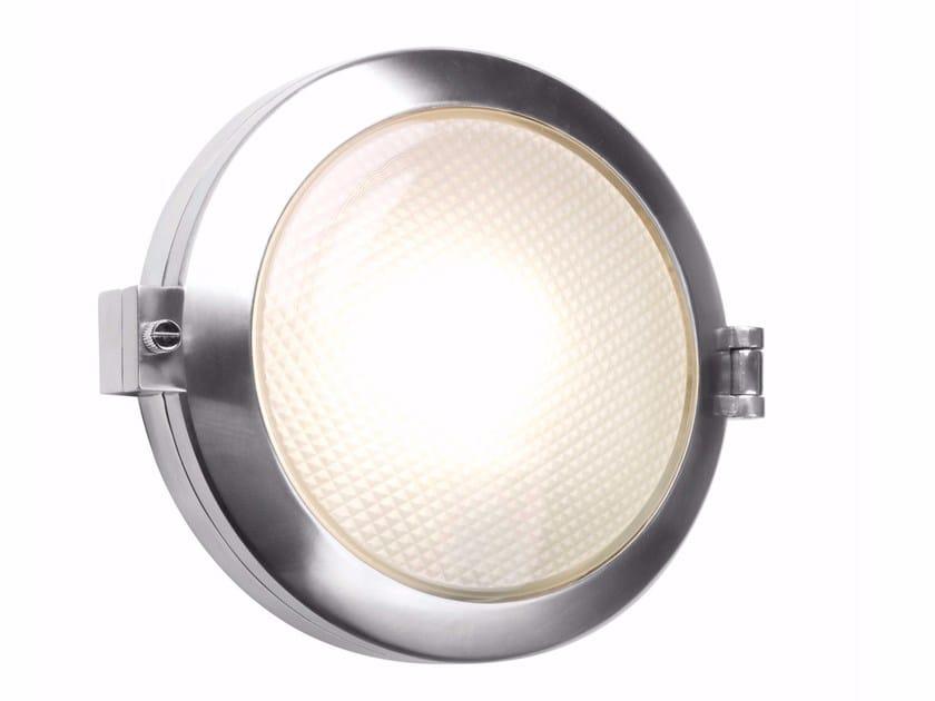 Contemporary style direct light aluminium Outdoor wall Lamp TORONTO ROUND by Astro Lighting