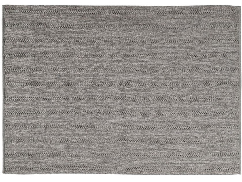 Solid-color rectangular polypropylene rug TORSADE by Toulemonde Bochart