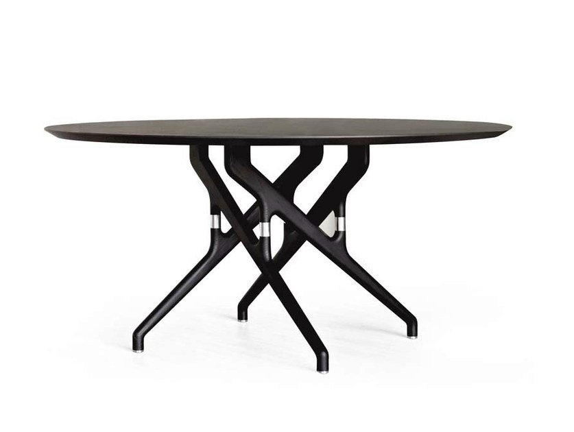 Round wooden table TORSO | Wooden table by Potocco