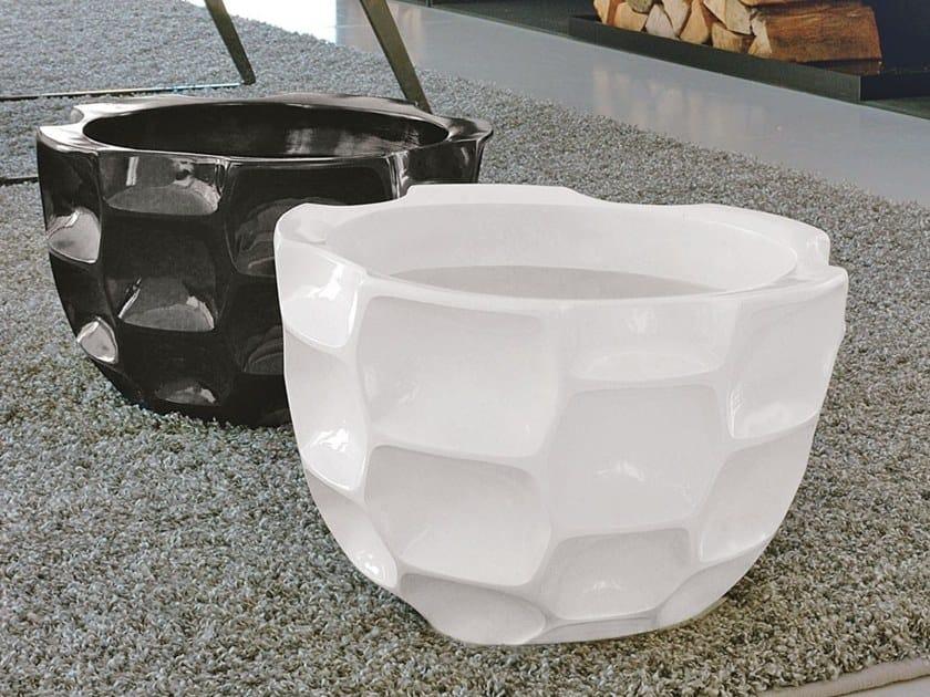 Ceramic vase TORTOISE by Adriani e Rossi edizioni