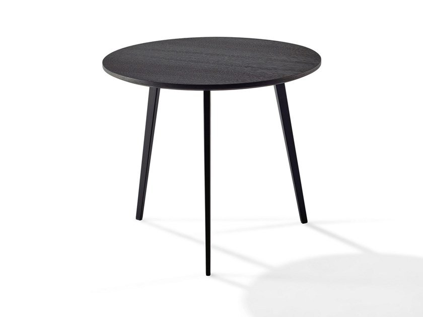 Round wooden coffee table TOSCA | Coffee table by Draenert