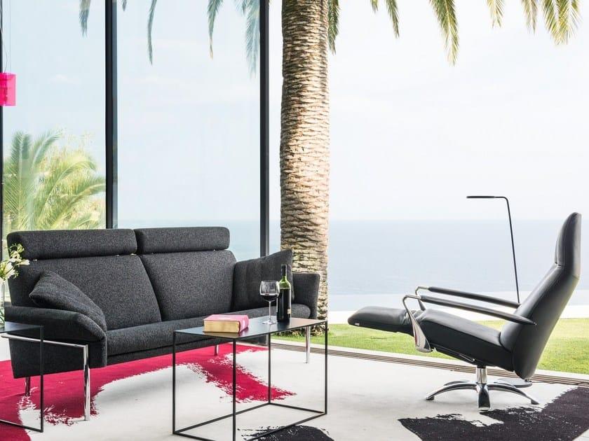 TOSCA | Fabric sofa By JORI design Jean-Pierre Audebert