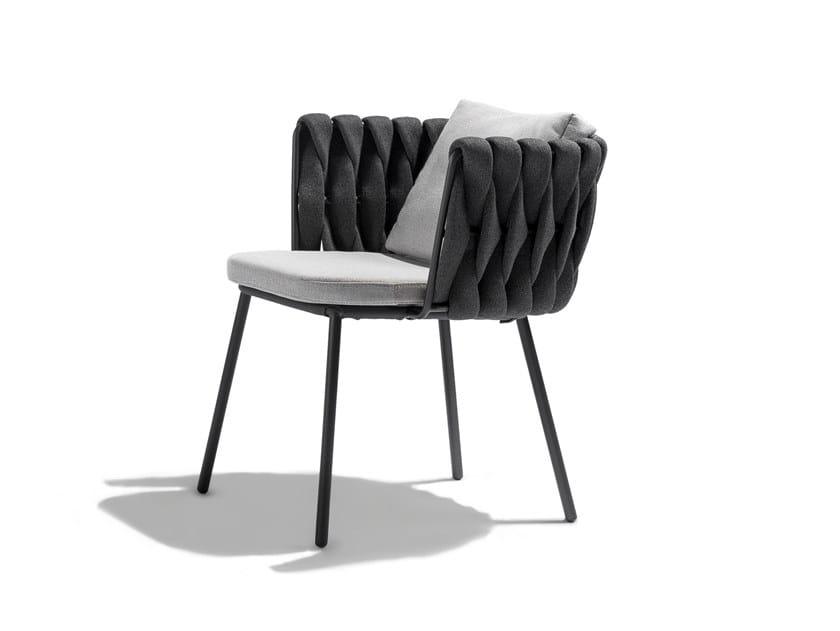 Cadeira para jardim com braços TOSCA | Cadeira para jardim by TRIBÙ