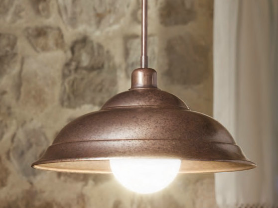 Brass pendant lamp tosca pendant lamp by aldo bernardi