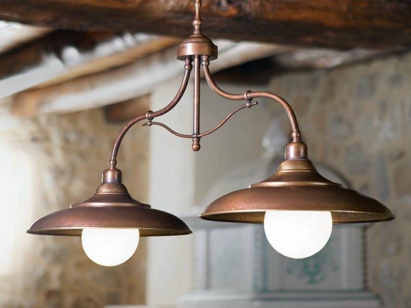 Brass chandelier tosca chandelier by aldo bernardi