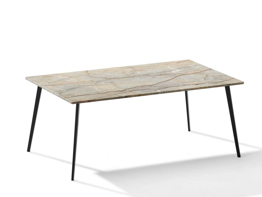 Rectangular Natural Stone Coffee Table TOSCA