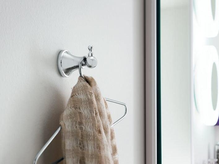 Metal robe hook TOSCA | Robe hook by INDA®