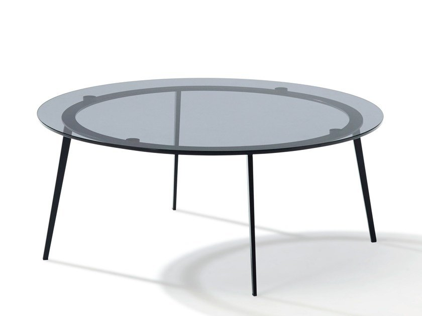 Tosca Table Basse En Verre Colore By Draenert