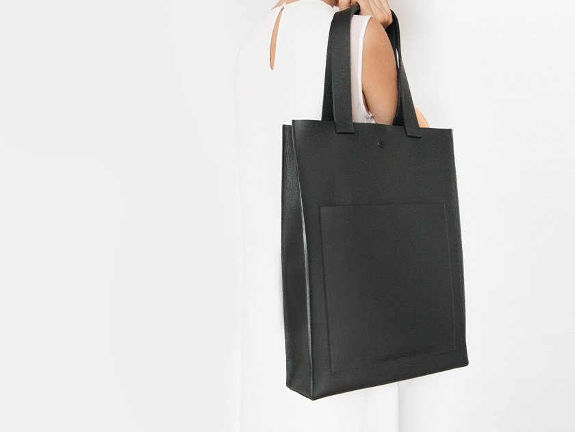 Leather bag TOTE by YUL
