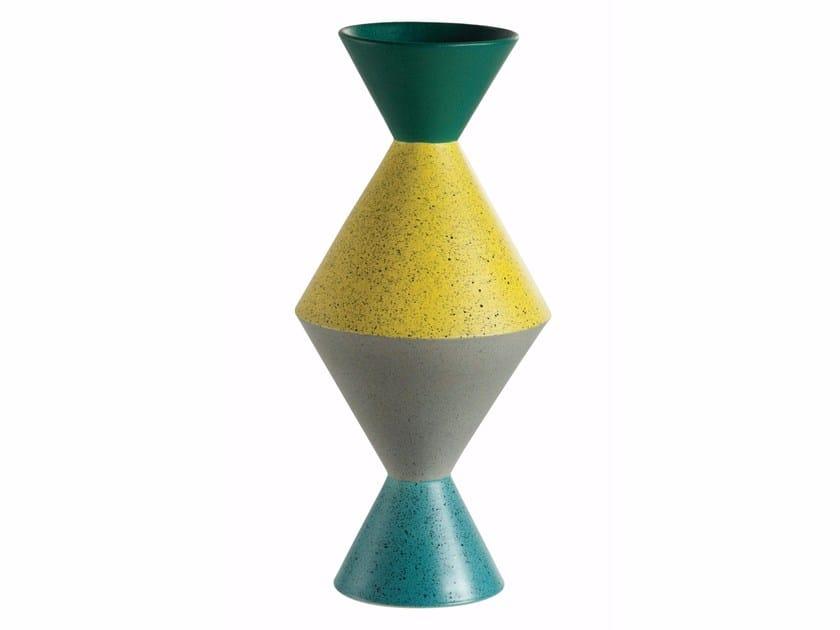Faïence vase TOTEM by ROCHE BOBOIS