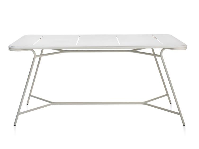 Rectangular metal garden table TOTEM | Table by Garda Furniture