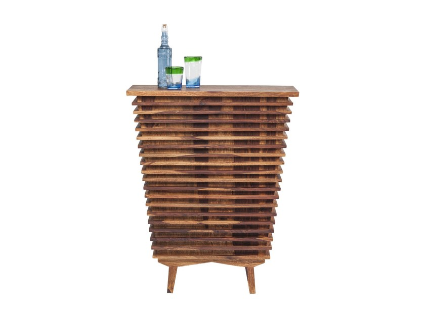 Lacquered wooden bar cabinet TOTO | Bar cabinet by KARE-DESIGN