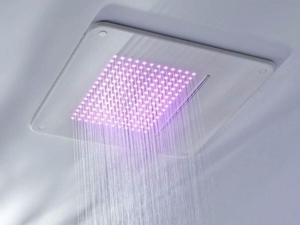 Soffione doccia a pioggia a soffitto TOUCH   Soffione doccia a soffitto by Systempool