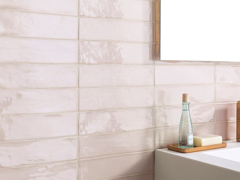 Indoor ceramic wall tiles TOUCH by L'ANTIC COLONIAL