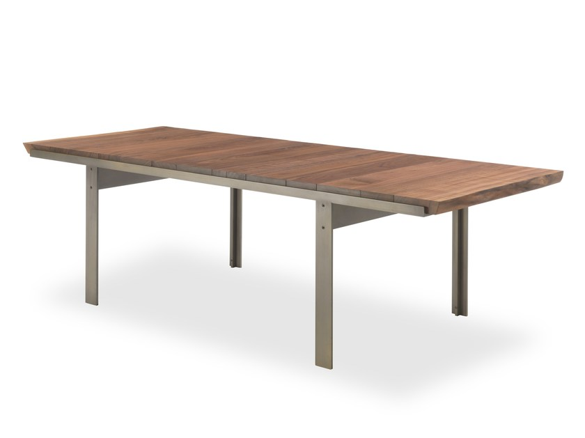 Rectangular solid wood table TOUCH by Riva 1920