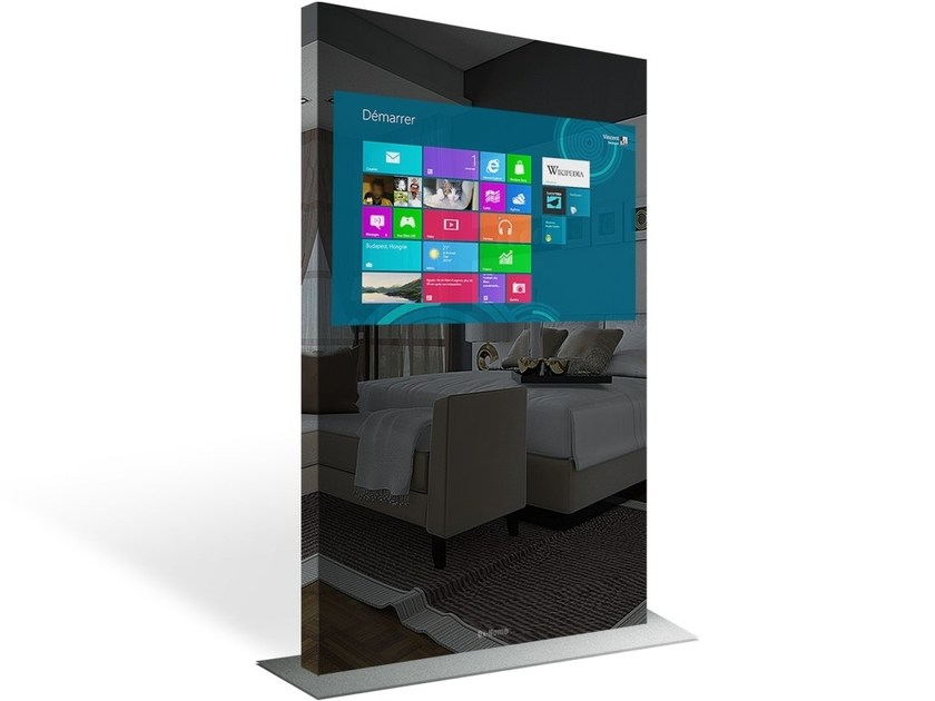 Multimedia display stand TOUCH SCREEN – CAPACITIVE TOTEM by Ox-Home