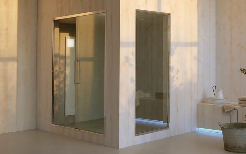 column with integrated hammam touch steam by effegibi design talocci design. Black Bedroom Furniture Sets. Home Design Ideas
