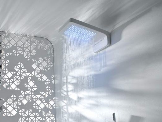 Wall-mounted rain shower TOUCH | Wall-mounted overhead shower by Systempool