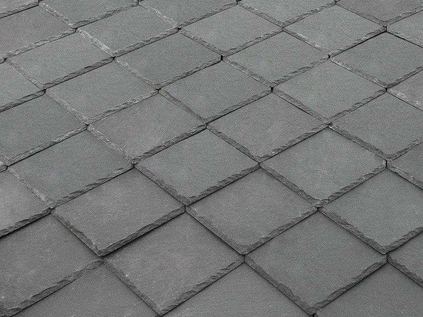 Slate roof tile TOULA 40X40 | Slate roof tile by B&B Rivestimenti Naturali
