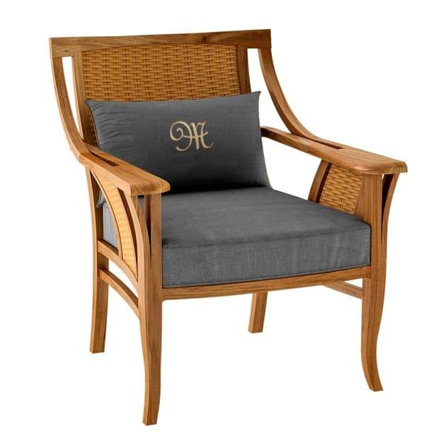 Deco club teak garden armchair TOURNESOL | Garden armchair by ASTELLO