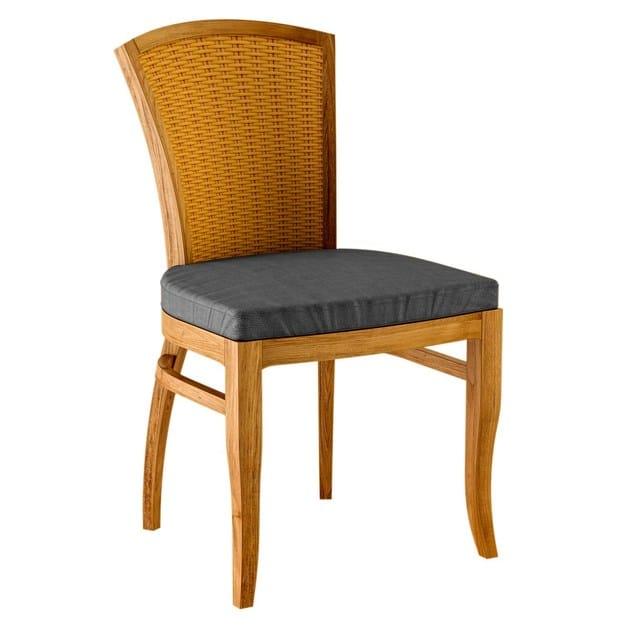 Deco teak garden chair TOURNESOL | Garden chair by ASTELLO