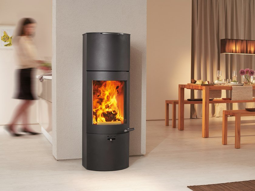 Wood-burning stove TOWER XTRA 2.0 by Austroflamm