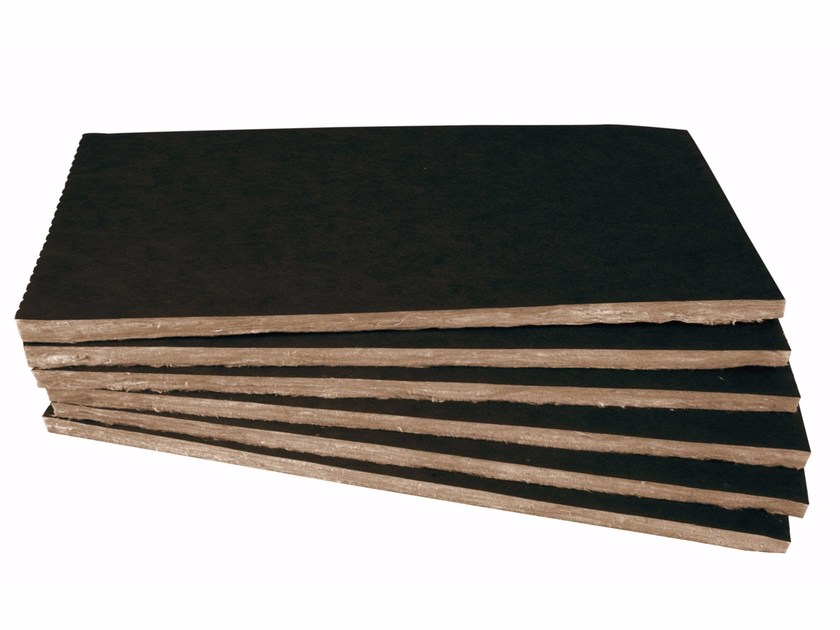 Glass wool Thermal insulation panel / Sound insulation and sound absorbing panel in mineral fibre TP 432 B by KNAUF INSULATION - TO
