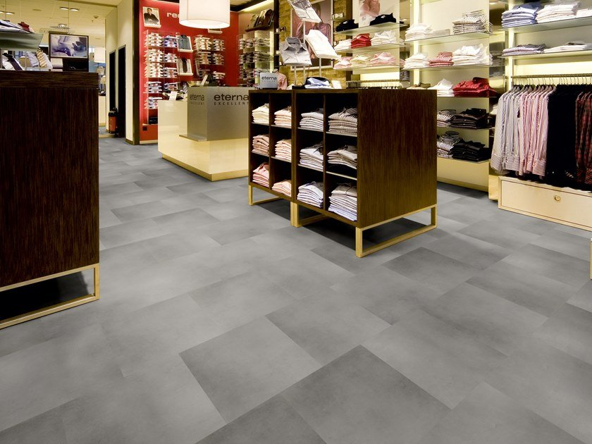 PVC flooring with stone effect TR 420 by PROJECT FLOORS