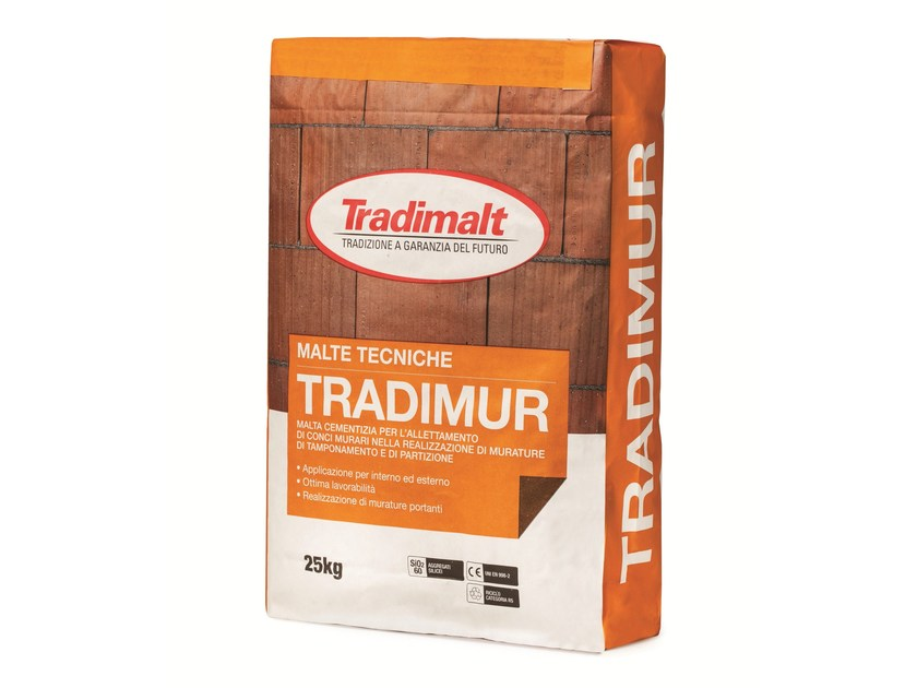 Mortar for masonry TRADIMUR by TRADIMALT