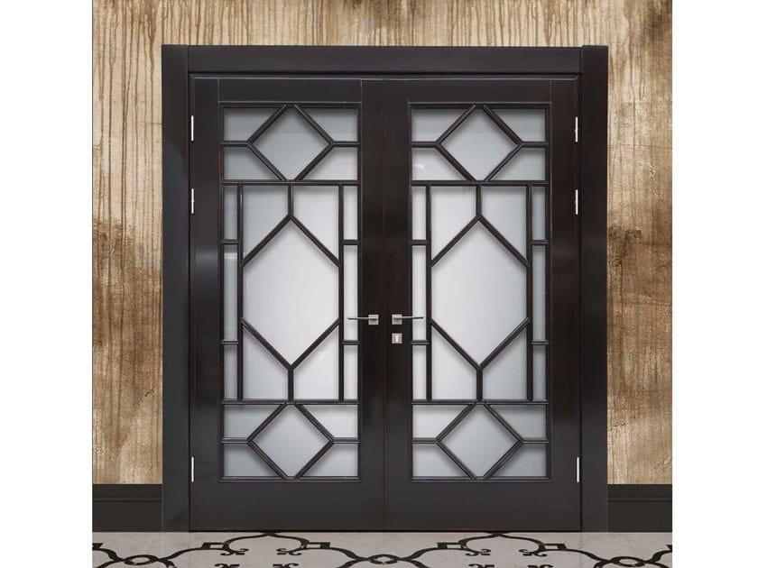 Porta in legno e vetro TRAFALGAR by Arnaboldi Interiors