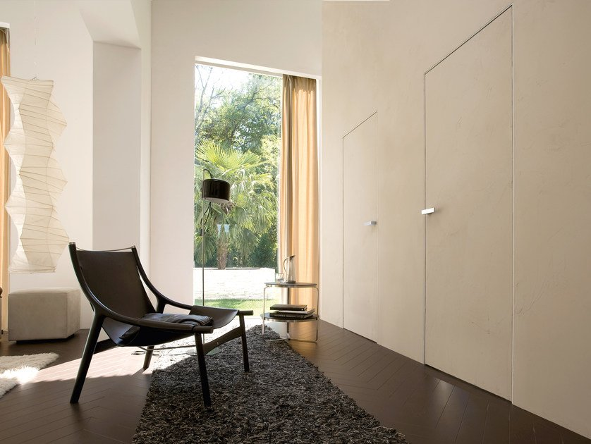 Flush-fitting door TRAIT | Flush-fitting door by ALBED by Delmonte